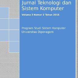 JTSiskom Jurnal Teknologi dan Sistem Komputer